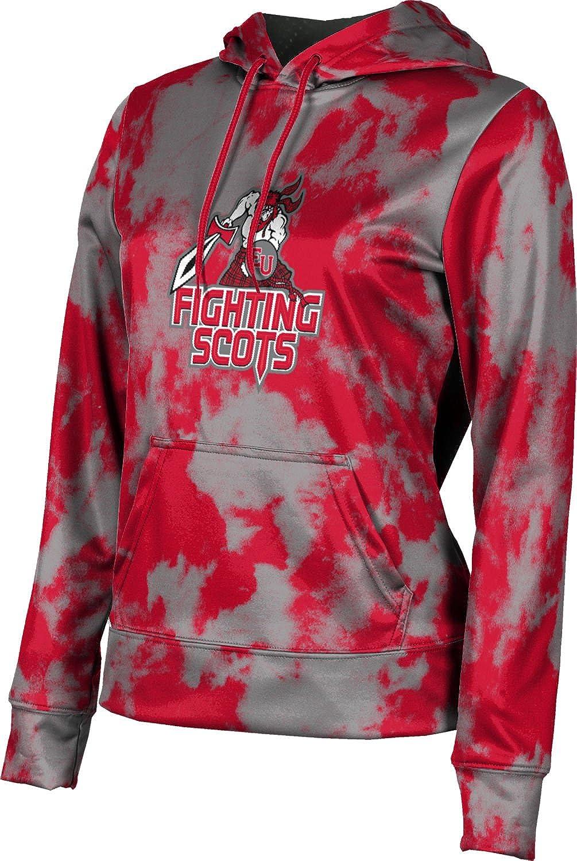 ProSphere Edinboro University Girls' Pullover Hoodie, School Spirit Sweatshirt (Grunge)