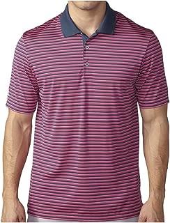 Golf Men's Golf Performance 3-Color Stripe Polo Shirt