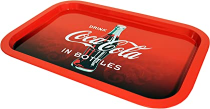 The Tin Box Company 778497-12 2019 Coca Cola Tin Tray Coke, Red