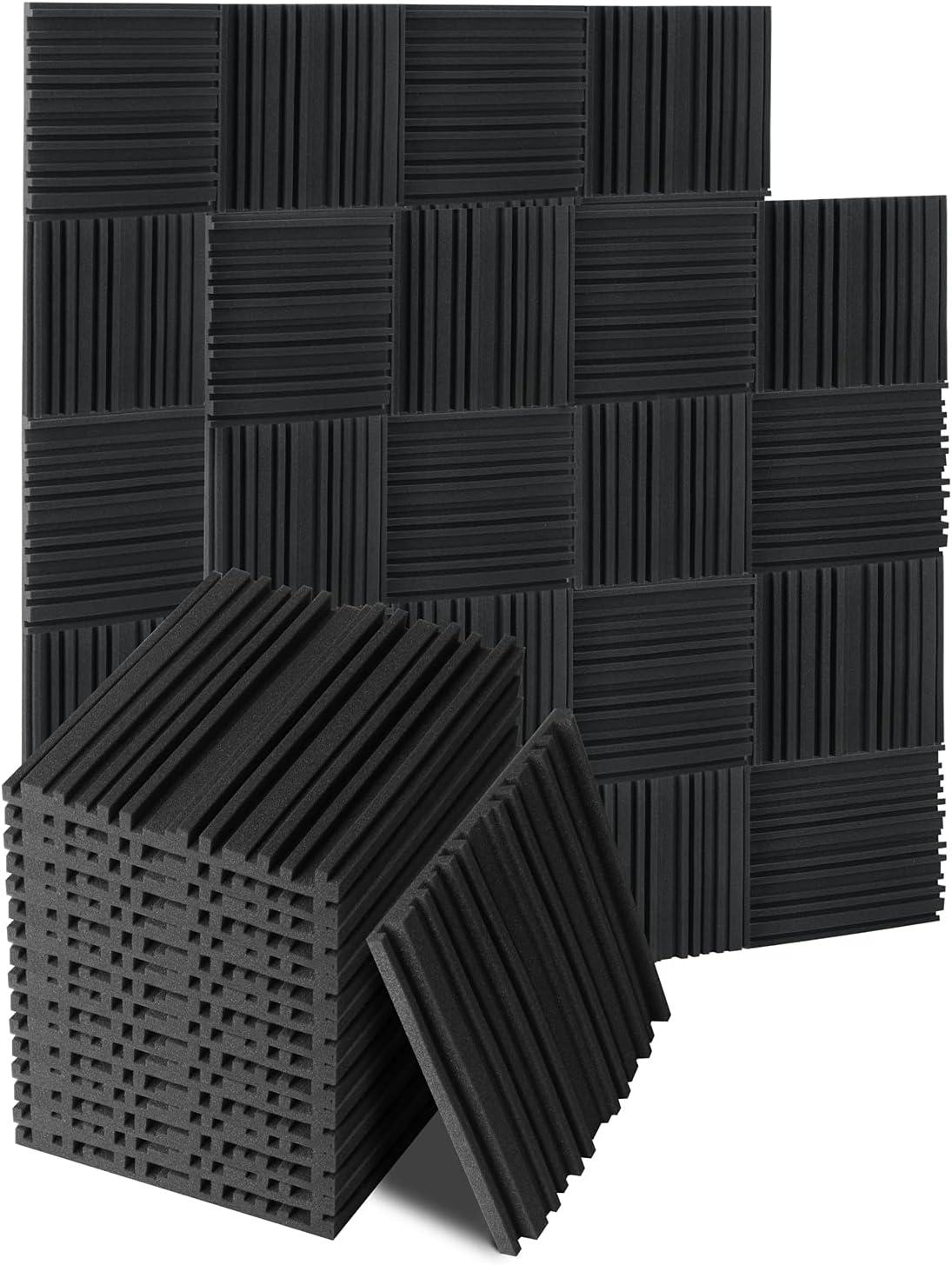 50 Pack Acoustic Foam Panels, 1
