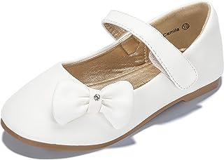 43d7e6fcf PANDANINJIA Toddler/Little Kids Camila Princess Uniform School Ballet Flower  Mary Jane Girls Flats Dress