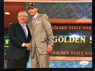 Stephen Curry Autographed Signed Memorabilia 8x10 Photo JSA Coa Nba All Star Steph HOF Warriors B304