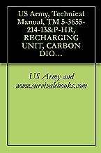 US Army, Technical Manual, TM 5-3655-214-13&P-HR, RECHARGING UNIT, CARBON DIOXIDE RECIPROCATING PUMP ELECTRIC MOT DRIVEN, AC, 115 VOLT, SINGLE PHASE, 60 ... MODEL 12681-7 (3655-00-004-9873)