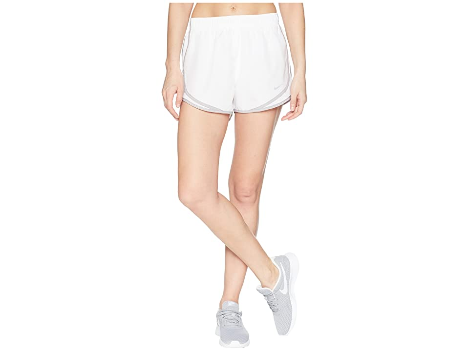 Nike Dry Tempo Short (White/White/Atmosphere Grey/Wolf Grey) Women