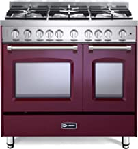 42 inch gas range double oven