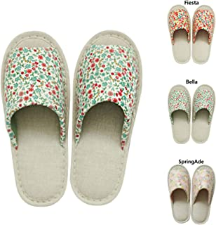 COTTONVILL Indoor Flower Room Shoes Slippers for Women Girls Ladies