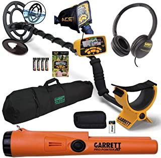 """Garrett ACE 300 Package with Pro-Pointer at and 50"""" Travel Bag"""