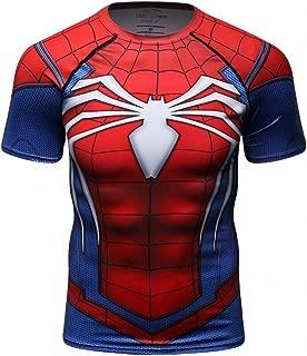 t shirt spiderman compression