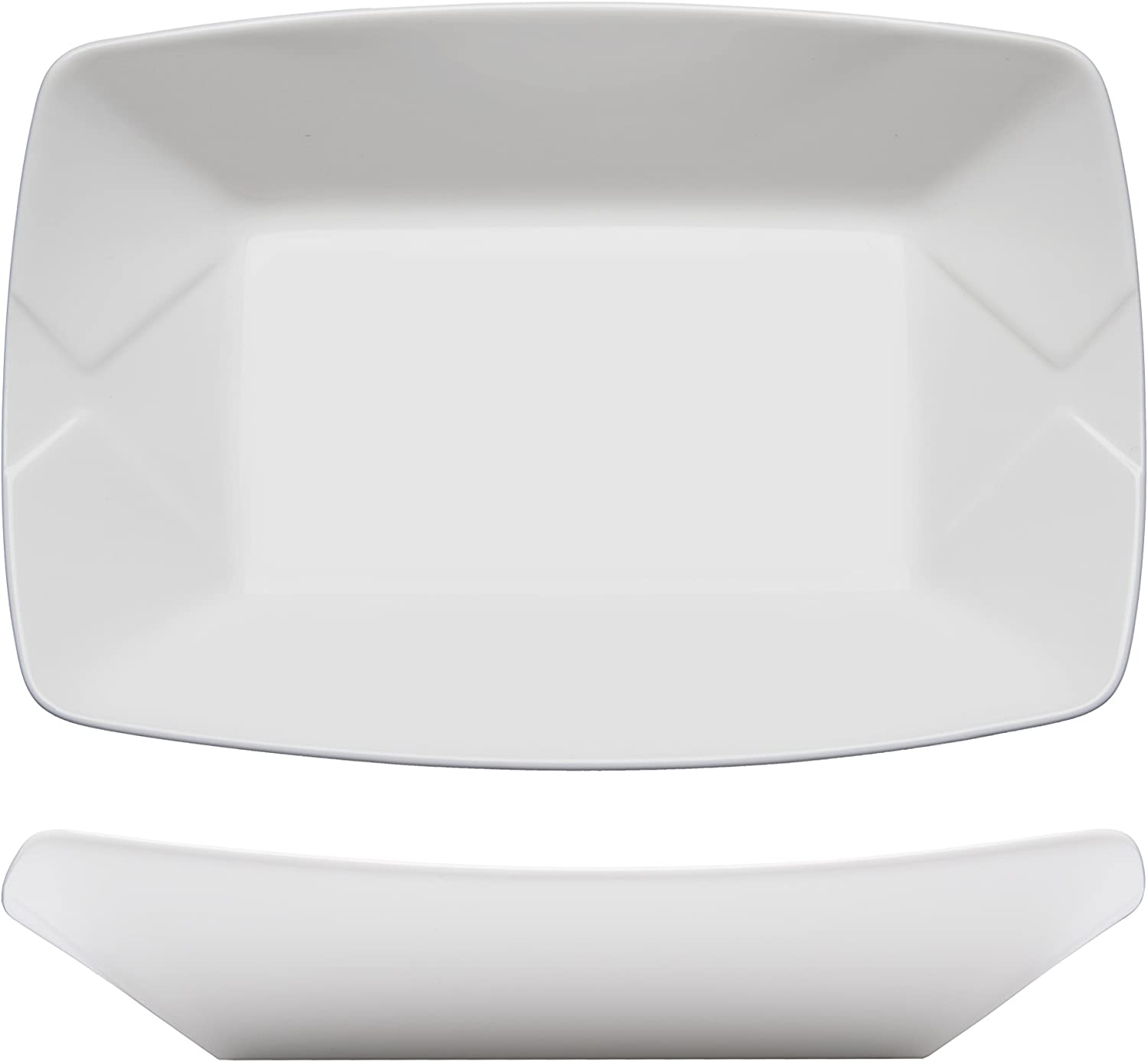 Fortessa famous Fortaluxe Food Truck Fort Worth Mall Chic Plate Large 8.5 Boat Serving