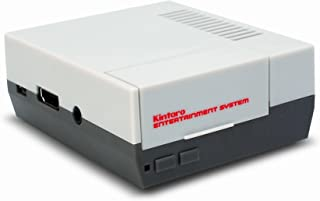 Kintaro Classic – NES Inspired Raspberry Pi Case – Old Skool Entertainment System - Retro Emulation Housing (Raspberry Pi Model 3, 2, B+)