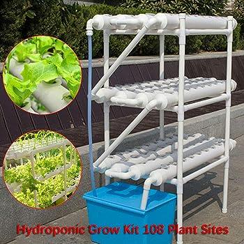 SENDERPICK 72 - Kit de Cultivo hidropónico de 4 Capas para Plantas ...