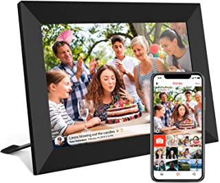 WUSHIYU Digital Frame 13 Inch Wi-Fi Cloud Digital Photo Frame 1024600 Pixels High Resolution High Resolution LED Screen USB and SD Card Slots Android App Electronic Digital Photo Frame