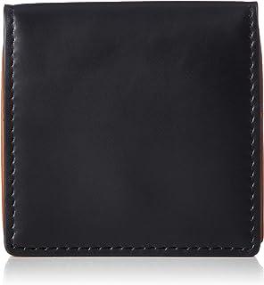 [オティアス] 財布 小銭入れ コインケース コンパクト 小さい バイカラー ベジタブルタンニン鞣し コードバン調カウレザー スナップボタン