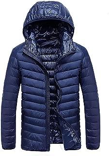 90% White Duck Down Jacket Male Waterproof Parkas Coats Ultra Light Stand Collar