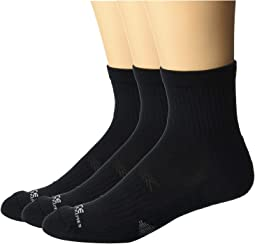 Force Extremes Cushioned Quarter Socks 3-Pack