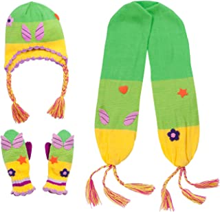Kidorable Girls' Little Fairy Hat Scarf Set