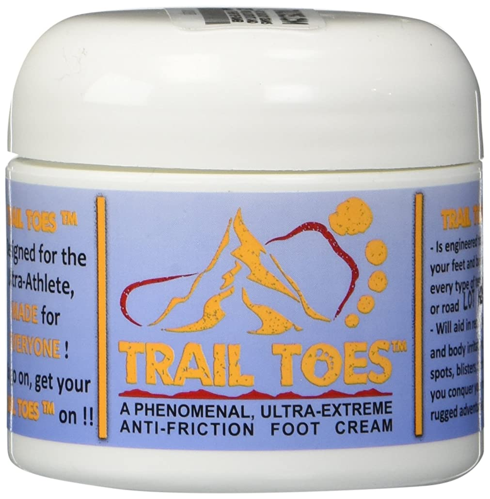 手綱ぐるぐる北東Trail Toes: Phenomenal Ultra-Extreme, Anti-Friction Foot and Body Cream 2 oz by Trail Toes Phenomenal Ultra Extreme Anti Friction Foot and Body Cream