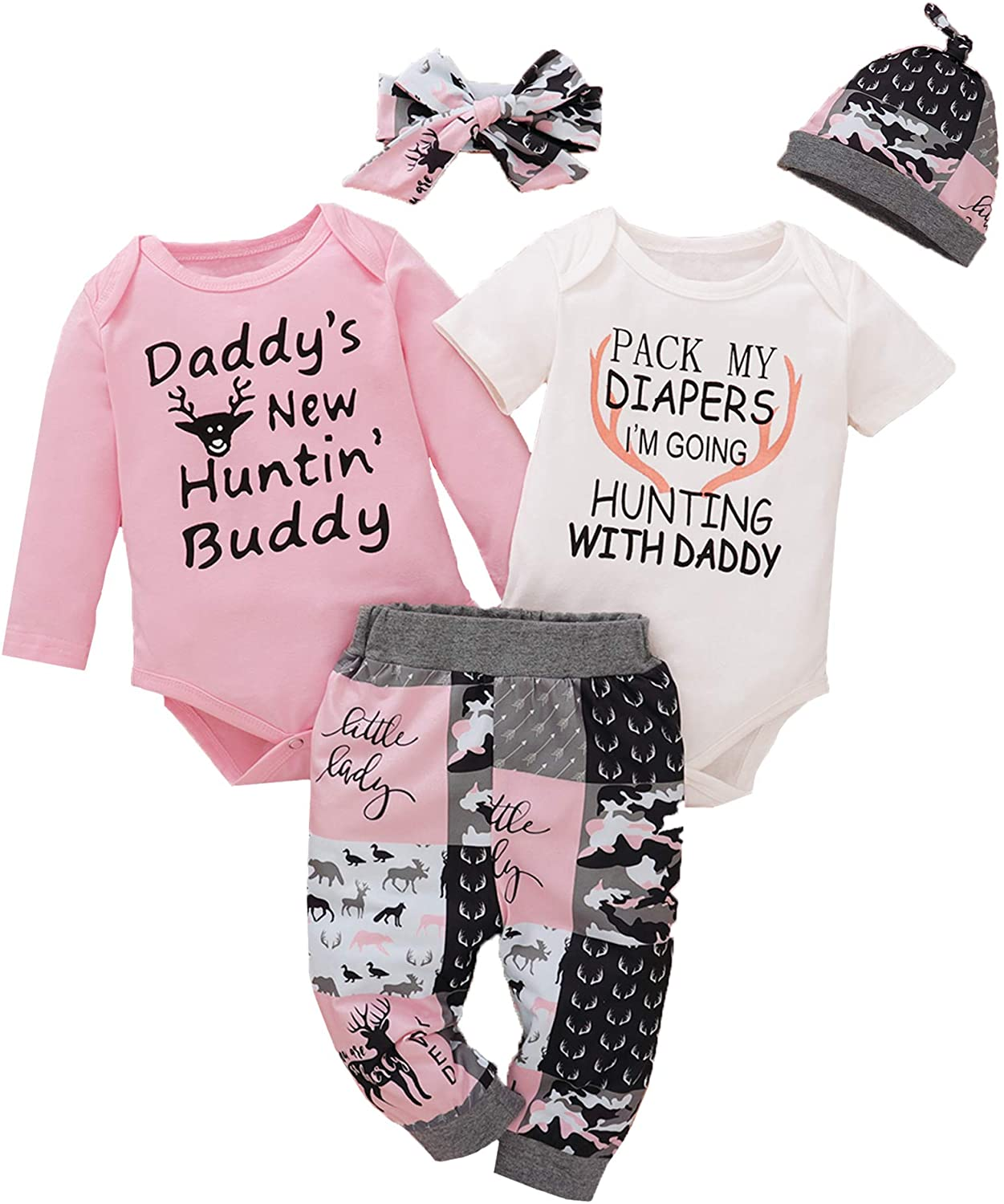 Dramiposs Newborn Girls Outfit Baby Girl Coming Home Outfit Newborn Girls Clothes