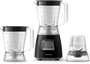 PHILIPS Daily Collection Blender, 450W, HR2059/91, Black
