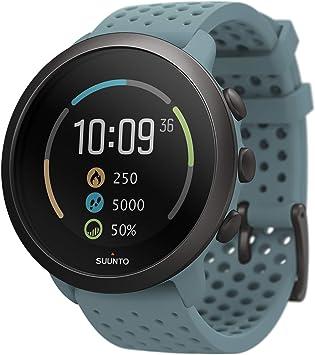 TALLA Talla única. Suunto 3 Reloj deportivo con medición del ritmo cardiaco en la muñeca, Seguimiento 24/7 de actividad física y recuperación
