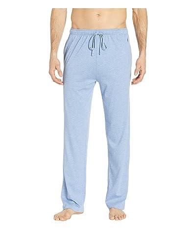 Polo Ralph Lauren Supreme Comfort Covered Waistband PJ Pants (Campus Blue Heather/Bright Navy PP) Men