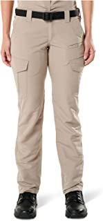 5.11 Tactical Women's Fast-Tac Cargo Pockets Professional Uniform Pants, Polyester Ripstop, Style 64419
