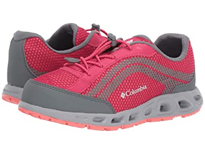 Columbia Kids Drainmakertm IV (Toddler/Little Kid/Big Kid) (Bright Rose/Hot Coral) Girls Shoes
