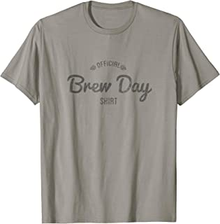 Official Brew Day Shirt Craft Beer Home Brewing Gift T-Shirt