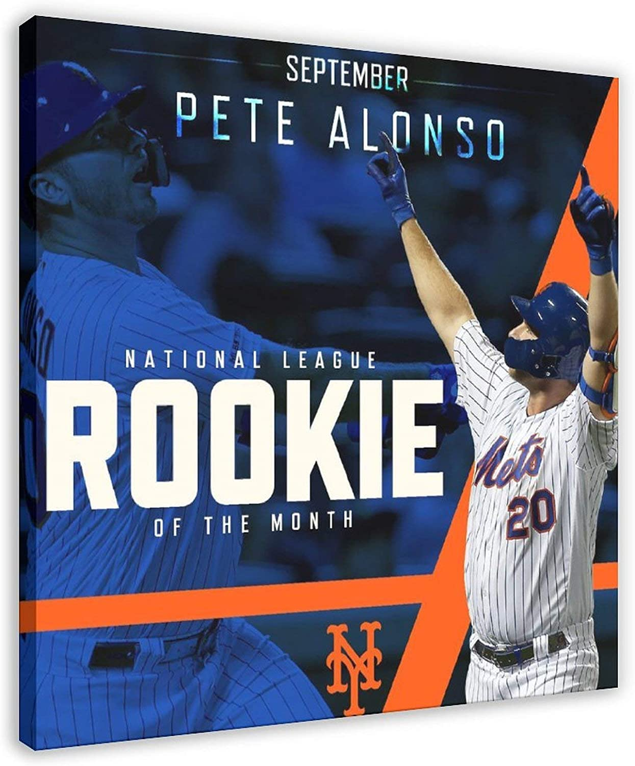 American League Elegant Baseball Star Players Alonso Pete Print Sports P NEW before selling