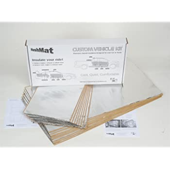 2002-present Volkswagon Toureg - Floor Hushmat 682601 Sound and Thermal Insulation Kit