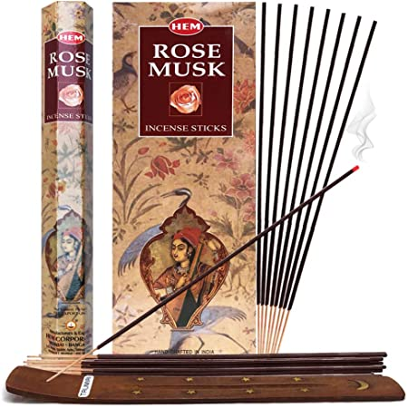 Bulk Buy Highly Fragrant 10 Packs of 20 Sticks ROSE SCENTED INCENSE STICKS