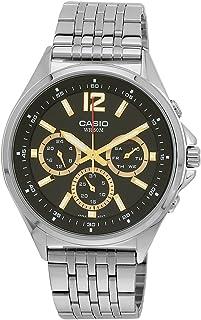 ساعة كاسيو MTP-E303D-1A - رسمية، أنالوج