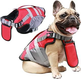 iChoue Dog Life Jackets Saver Swimming Vest Floating Plate