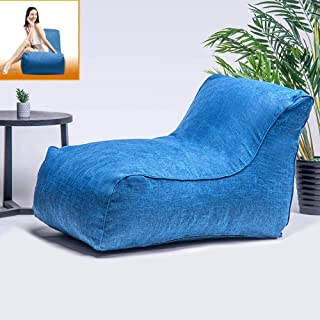 Merax Floor Couch, Bean Bag Chair for Adults Floor Cushion Sofa for Room, Sofa Sack - Comfortable Back Support - Soft Fiber Cover - Sofa Chair Memory Foam Lounger Sleeper for Reading Napping Gaming TV