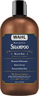 Wahl Shampoo with Essential Oils for Healthy Hair – Moisturizes, Restores, Cleans & Nourishes Hair with Manuka Oil, Meadowfoam Seed Oil, Clove Oil & Moringa Oil – 24 Oz