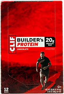Clif Bar Builder's Protein Bars, Chocolate, 12 ct