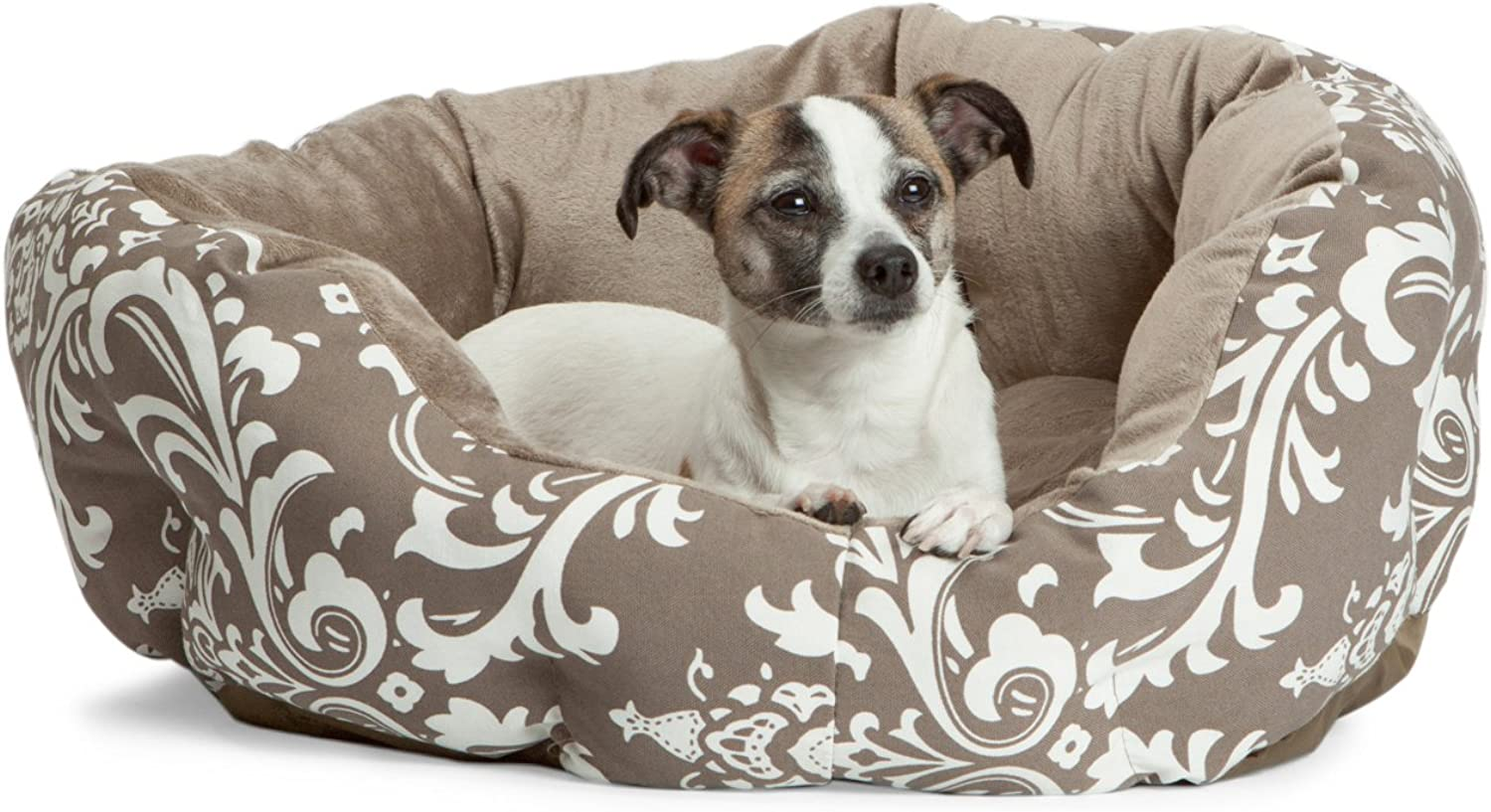 Best Friends by Sheri DCHAMSCOCMED Medium Duchess Cuddler in Amsterdam for Small to Medium ( 30 lbs) Pets, 23  X 23  X 9 , Cocoa