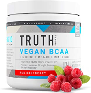 Sponsored Ad - Truth Nutrition Vegan BCAA Powder- All Natural Branched Chain Amino Acids for Energy, Muscle Building, Post...