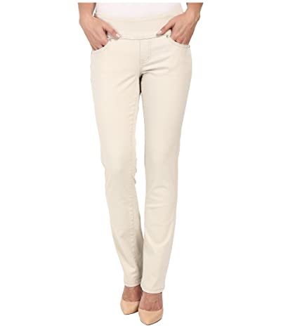Jag Jeans Peri Pull-On Straight Leg Pants in Bay Twill (Stone) Women