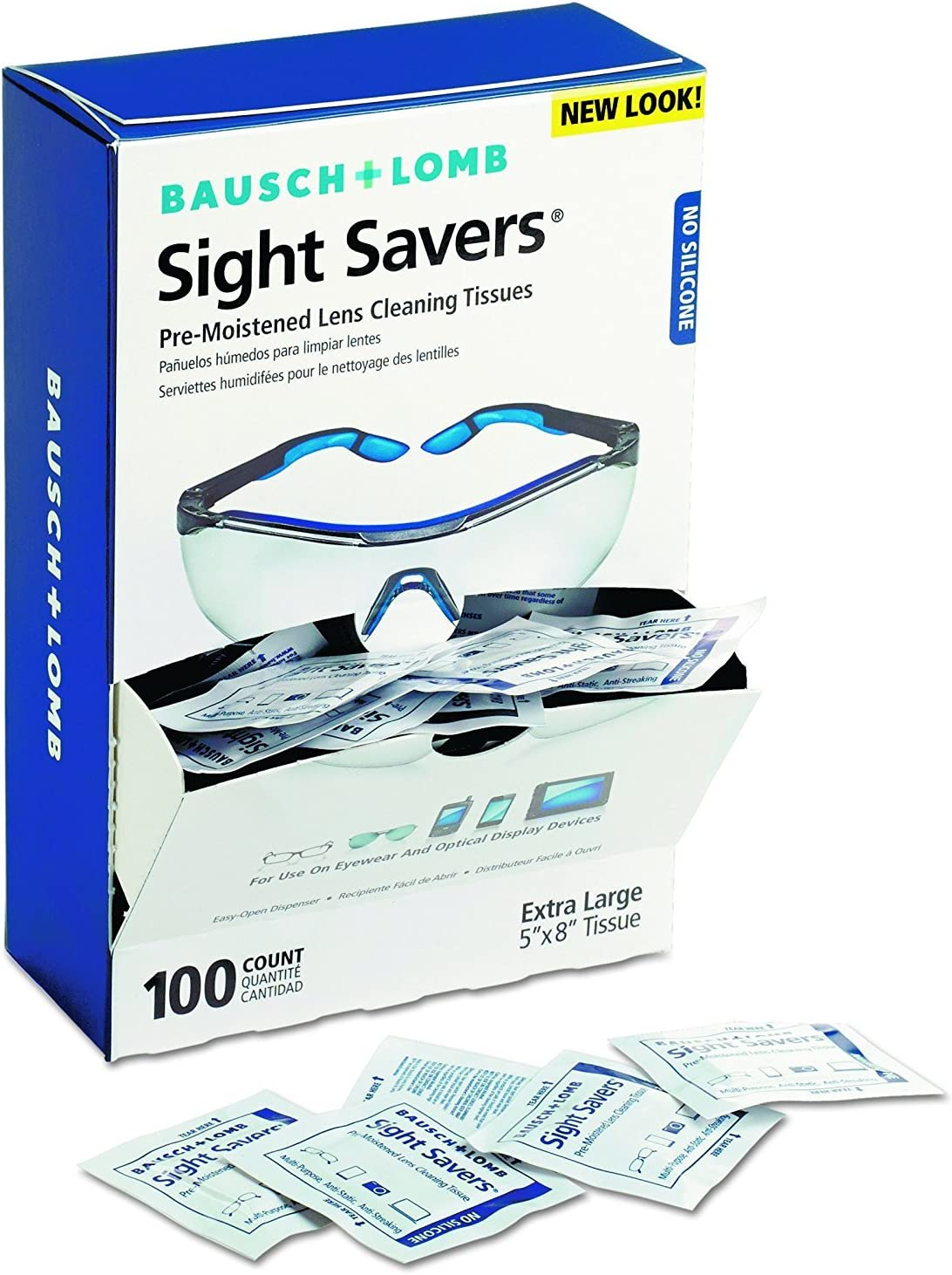 Max 44% OFF Bausch and Lomb 8574GM Sight Premoistened Savers NEW before selling RoyAiD Cle Lens