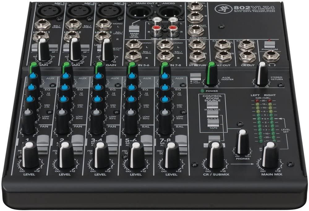 Mackie OFFicial store VLZ4 Series 802VLZ4 Compact Ultra 8-Channel Mixer Max 45% OFF