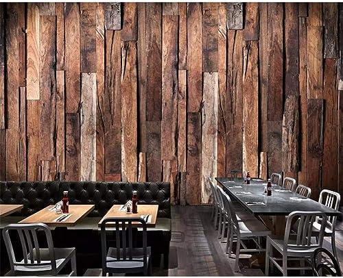El ultimo 2018 YYBHTM Papel Tapiz Personalizado Retro Nostálgico Grano Grano Grano De Madera Restaurante Restaurante Mural Decoración del Hogar Fondo De Parojo Fondo De PanTalla 3D  alto descuento