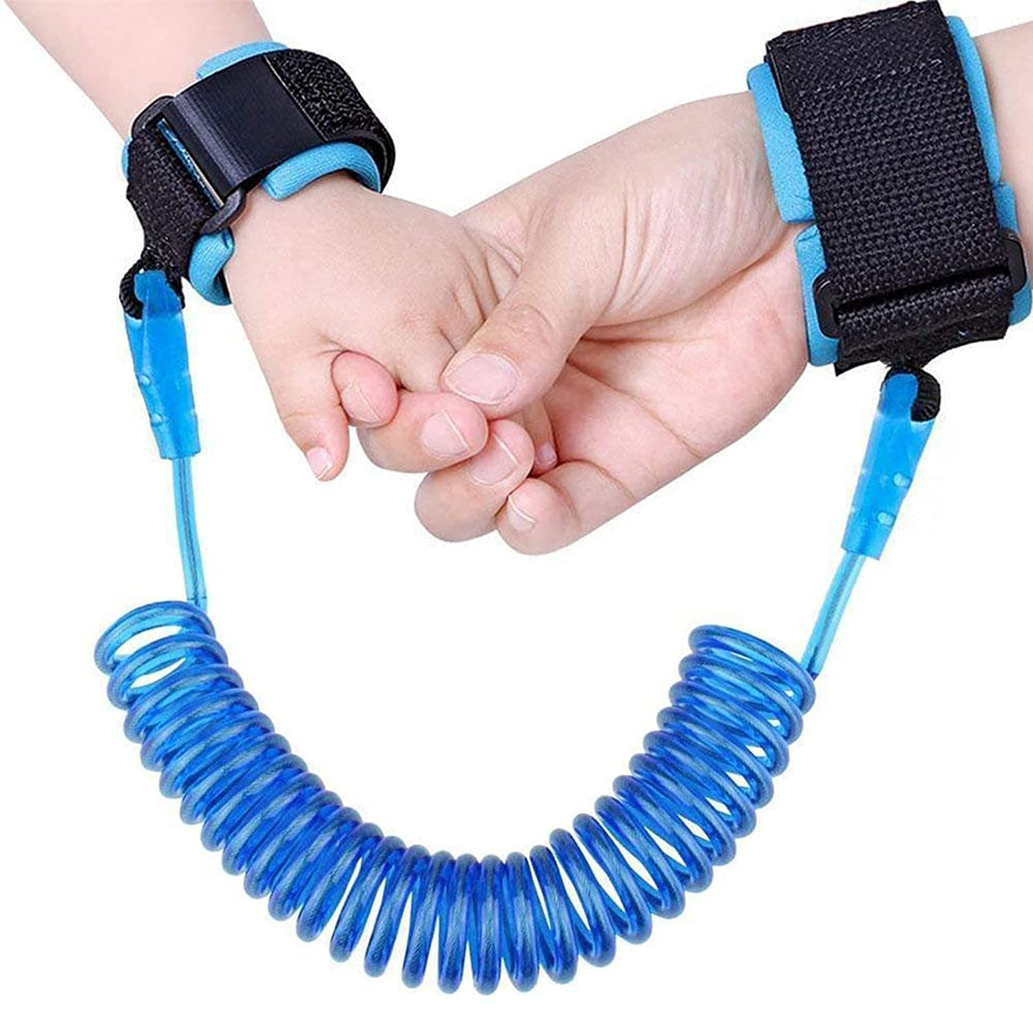 Anti Lost Wrist Link for Toddlers, Toddler Leash Wrist Baby Safety Leashes Wrists for Kids,Boys, Child (2M, Blue)