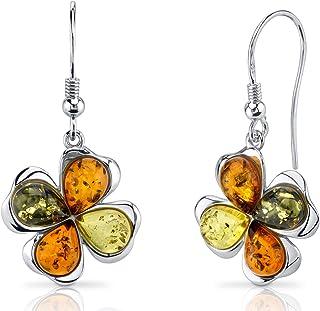 Amber Gift Dangle Baltic Amber Earrings,Teardrop Amber Earrings,Silver Earrings,Bernstein Earrings Amber and Silver Earrings,Amber Jewelry