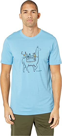 Merino Sport 150 Llama Adventures Tee