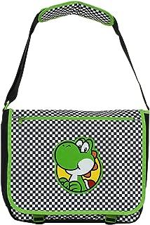 Official Super Mario Yoshi Checkered Messenger Bag