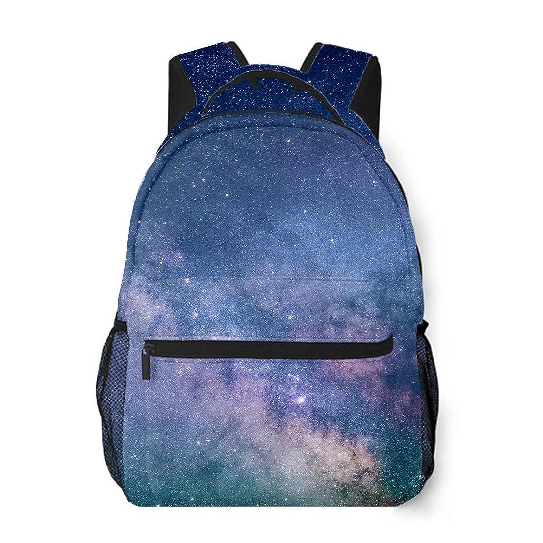 協力するフォーラム息苦しい星空の輝き カジュアルバッグ リュックショルダーバッグ おしゃれ 人気 通勤 通学 大容量 カスタム 個性的なリュックサック