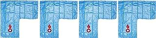 Robelle 3802-04 Deluxe 16g. Blue 2-Foot Corner Winter Water Tube For Swimming Pool Covers, 4-Pack