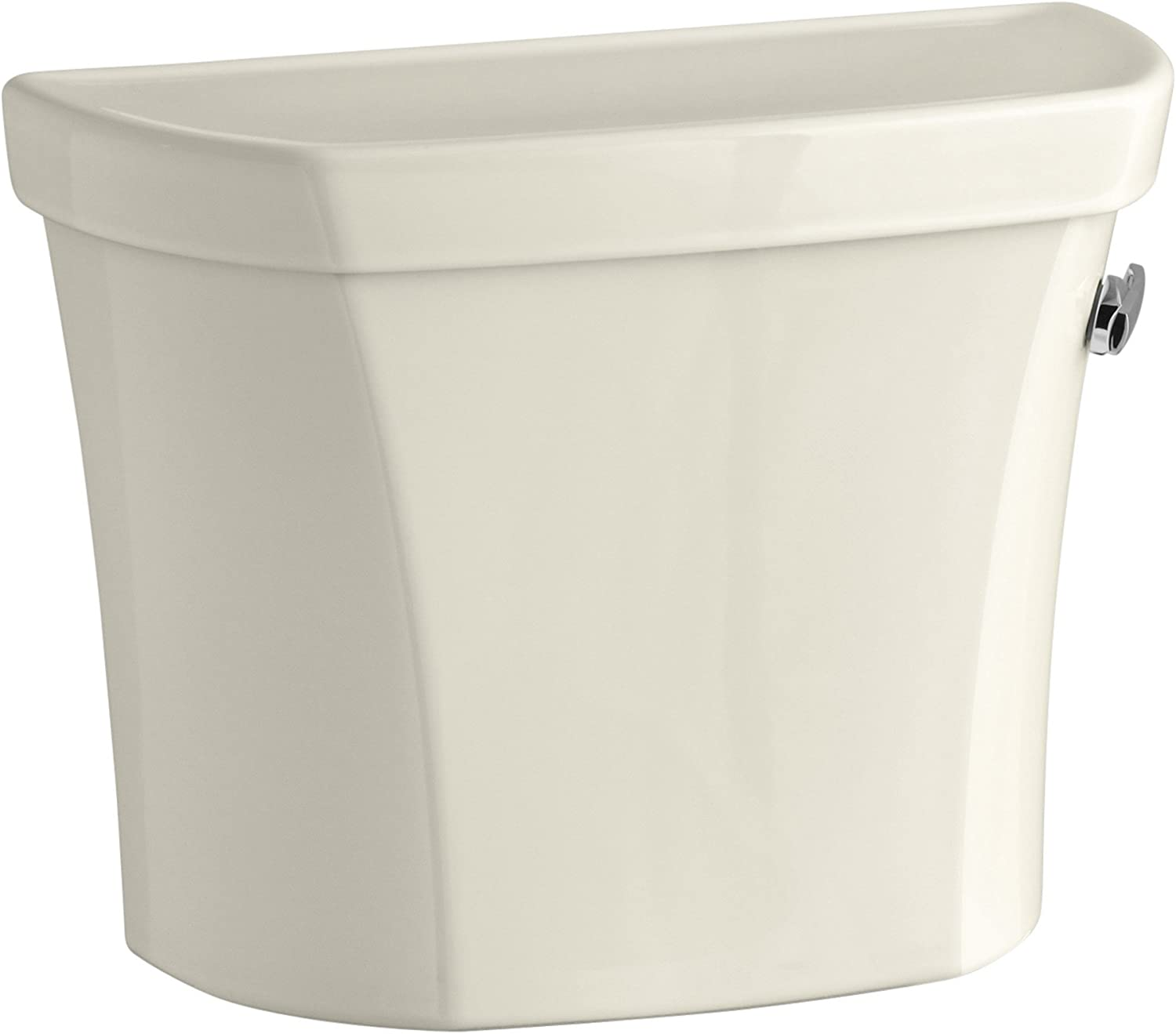 Wellworth 1.0 GPF Toilet Tank A surprise price is realized with Right-Hand Tulsa Mall Lever Biscui Trip