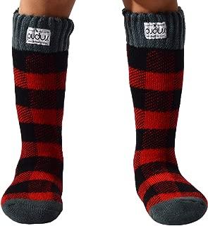 Pudus Kids Warm Boot Socks (Ages 4-7), Tall Winter Socks for Boys & Girls